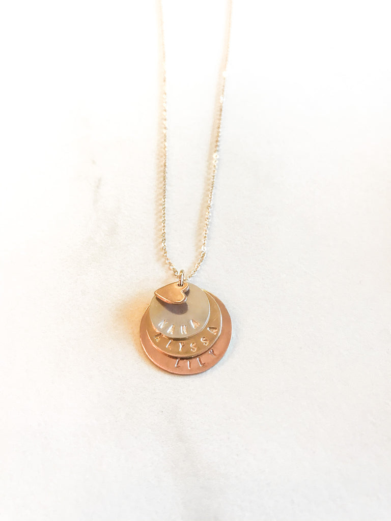 Layered Identity Necklace