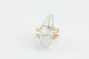 Evening Crystal Ring