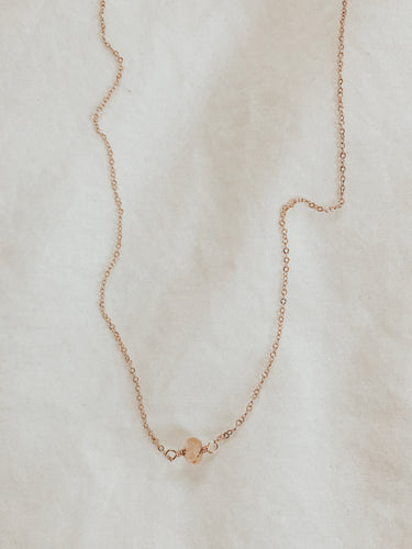 Dainty Stone Necklace