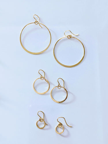 Muse Circle Earrings