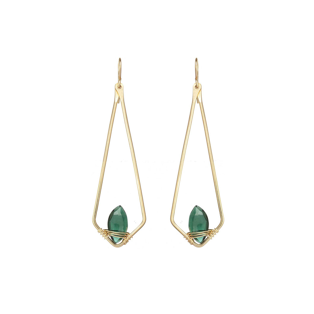 Dainty Marquis Earrings