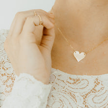 Float Heart Necklace