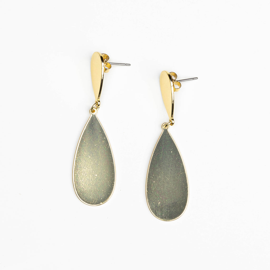 HARLOW Teardrop Post Earrings