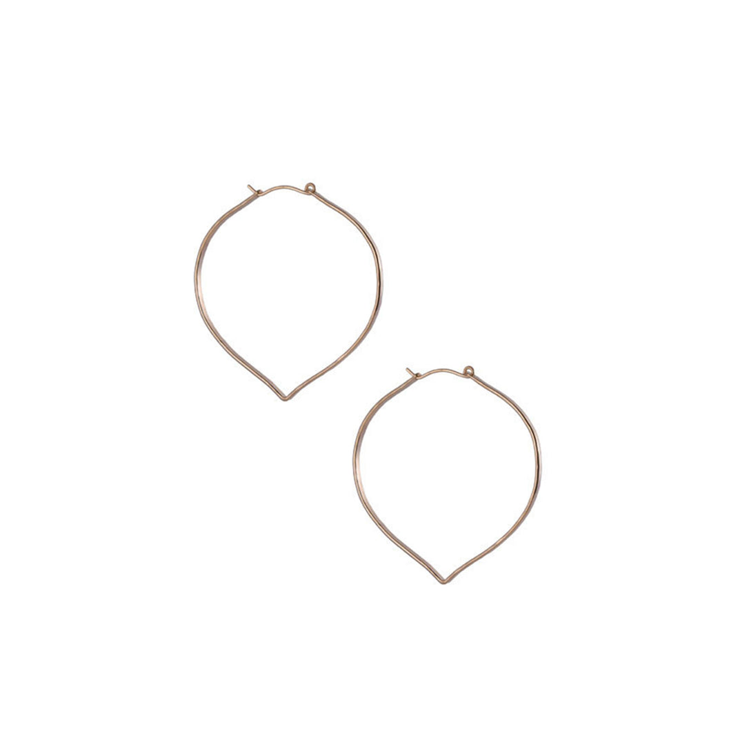 Small Blade Hoop Earrings