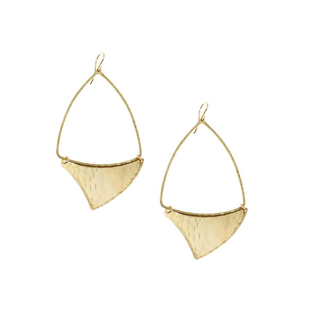 Shark Fin Earrings