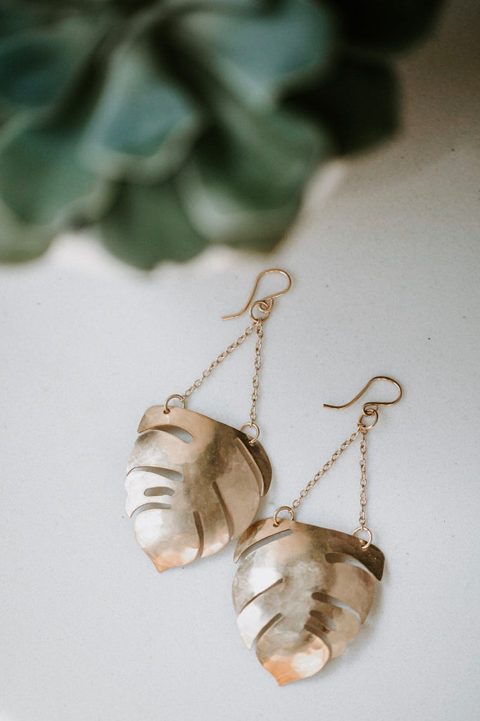 Boho Fern Earrings