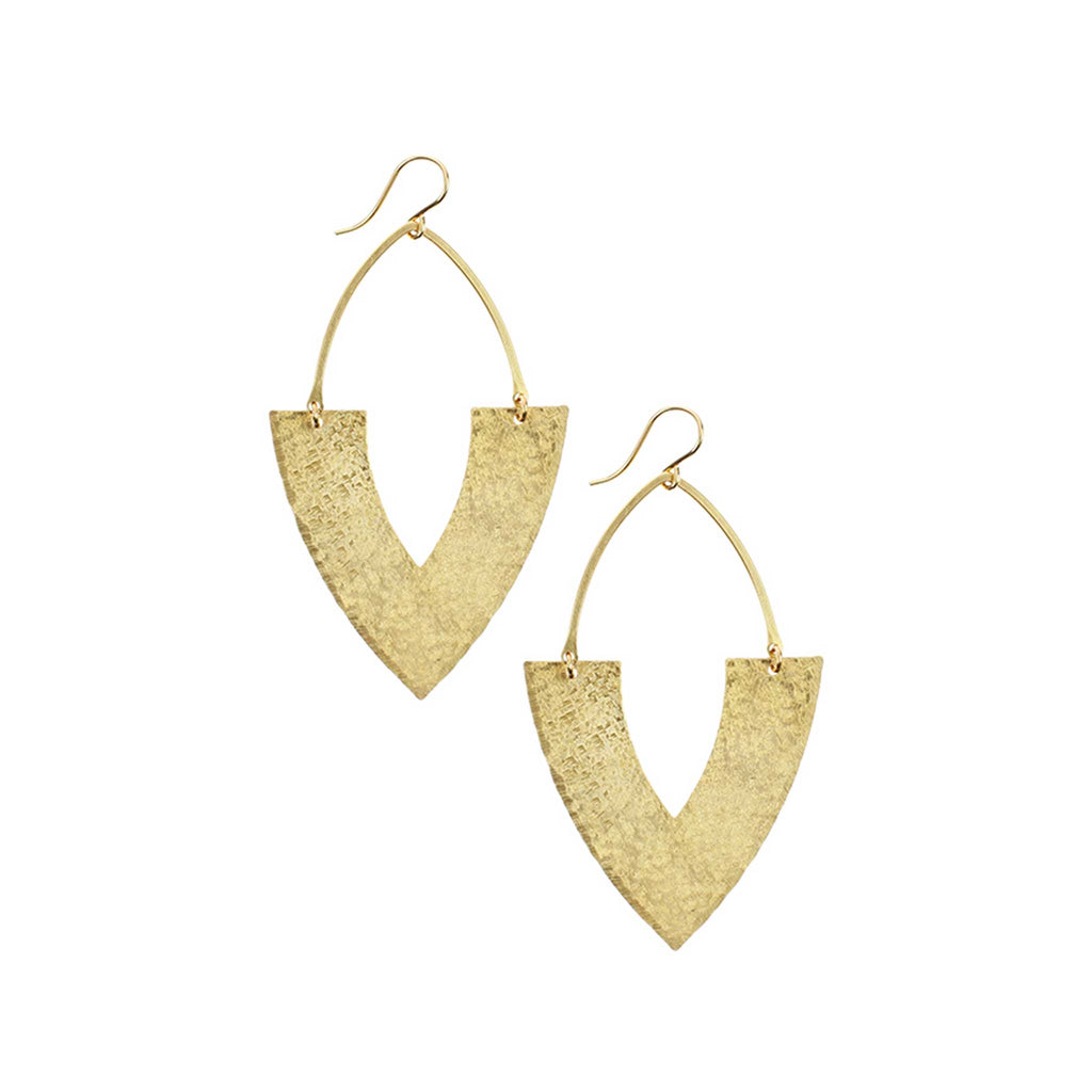 Double Edge Earrings