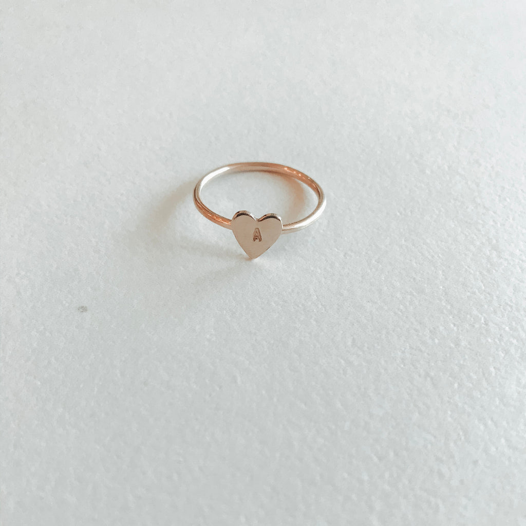 Heart Keepsake Ring