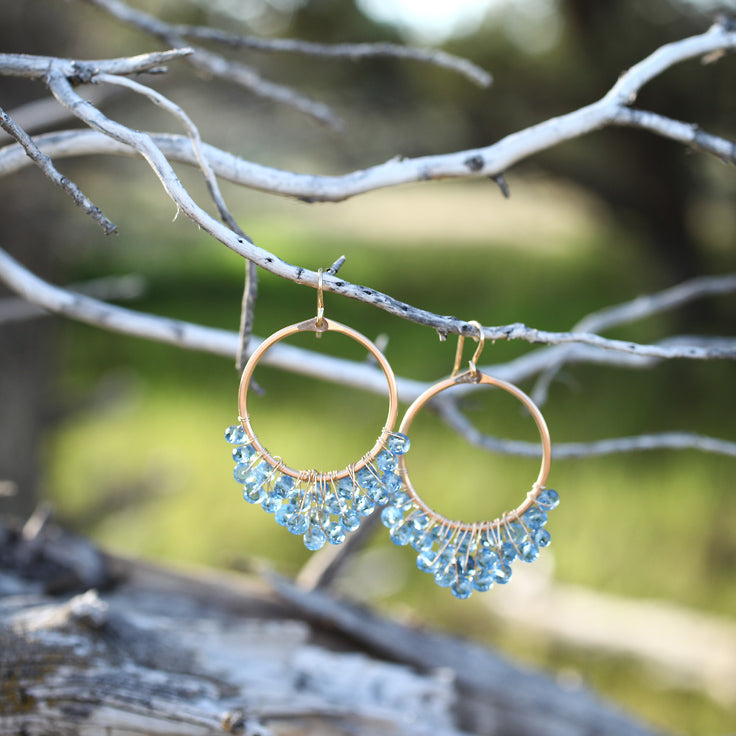 Cascading Hoop Earrings
