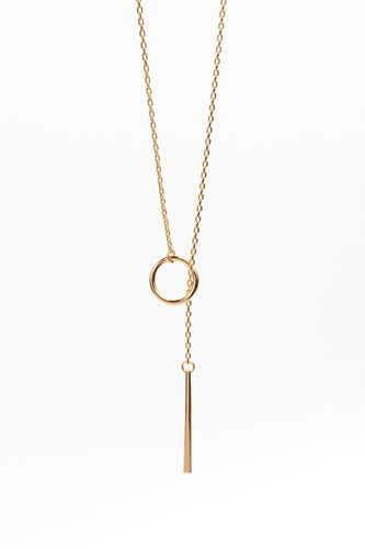 HARLOW The Heather Lariat Necklace
