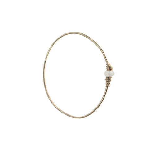 Single Gemstone Bangle