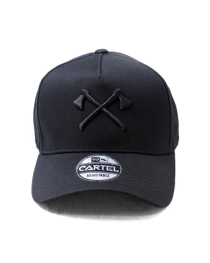 The Axes A-Frame Snapback - Black Secondary