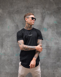 The Signature Slim Tee - Black