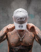 Load image into Gallery viewer, The Signature A-Frame Snapback - Grey