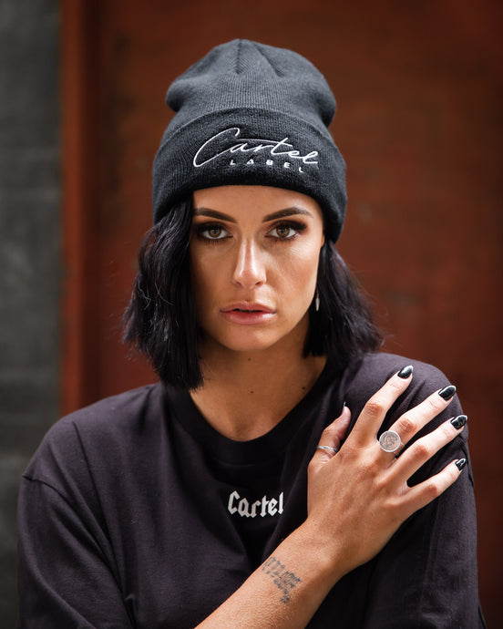 The Signature Beanie - Black