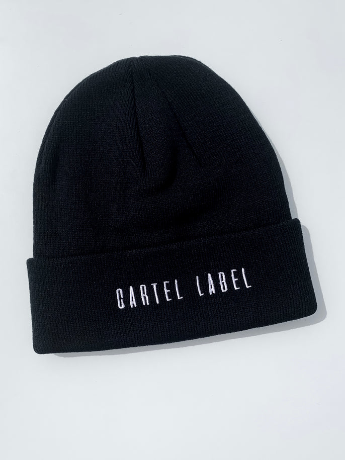 The Minimal Beanie - Black
