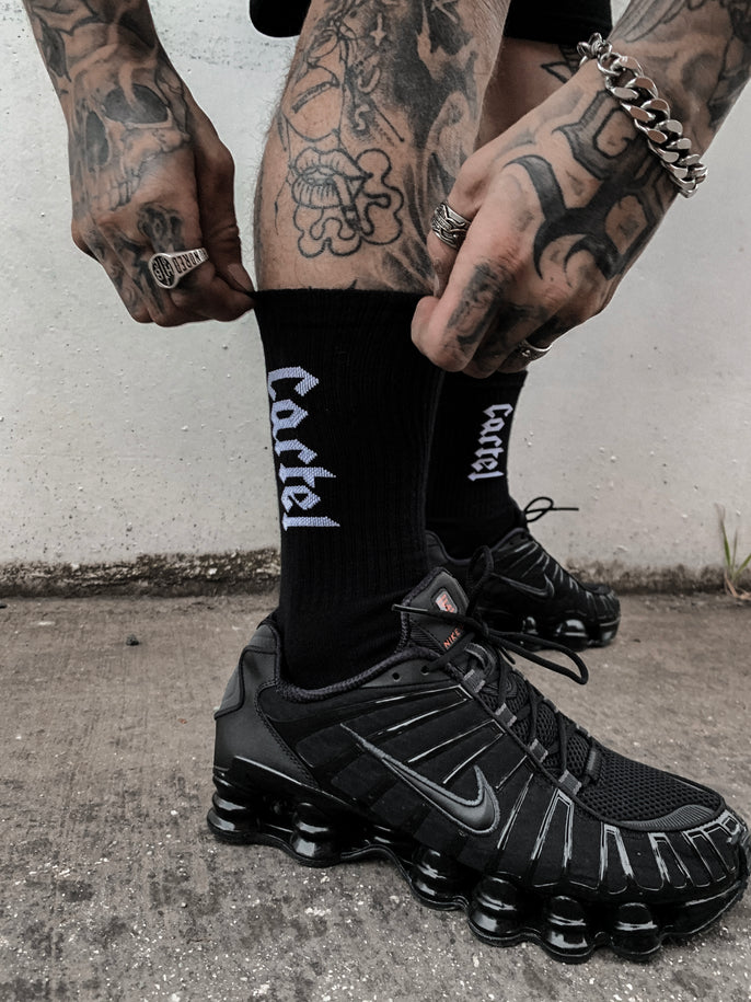 The Voltage Socks - Black