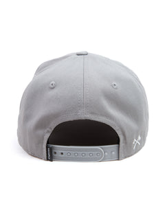 The Signature A-Frame Snapback - Grey