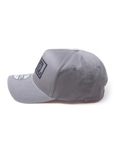 The Stamp A-Frame Snapback - Charcoal