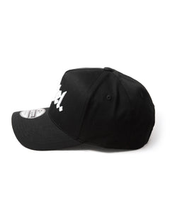 The Voltage A-Frame Snapback - Black/White