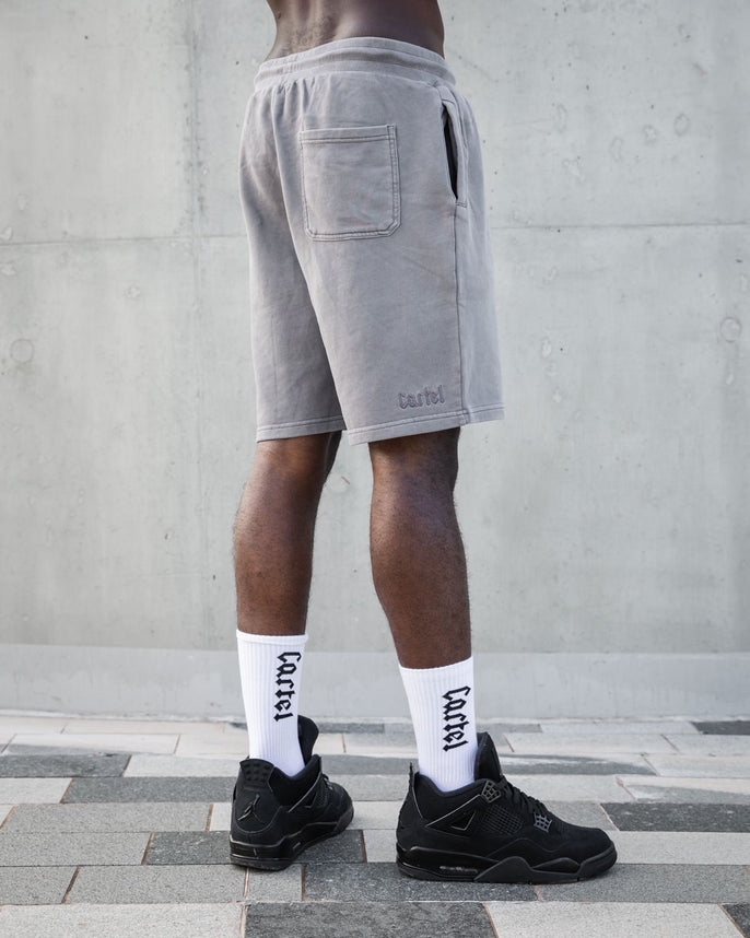 The Silhouette Relaxed Shorts - Storm Grey Secondary