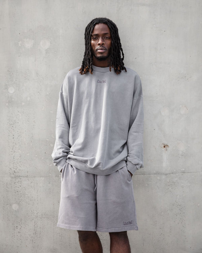 The Silhouette Sweatshirt - Storm Grey