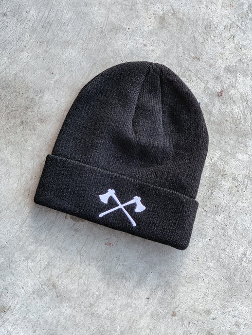 The Axes Beanie - Black