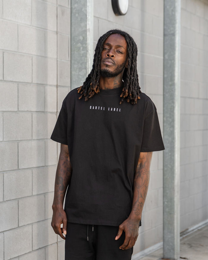 The Minimal Drop Tee - Black Secondary