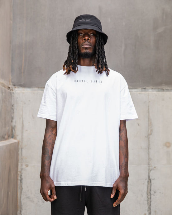 The Minimal Drop Tee - White