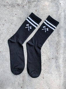 The Axes Socks - Black