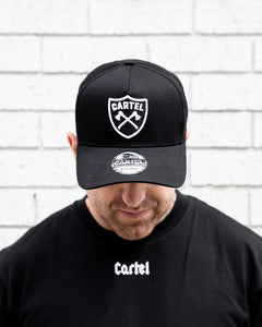 The Ranger A-Frame Snapback - Black/Mono