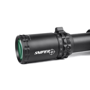 Sniper VT5.9-39x56 FFP 35MM Scope First Focal Plane Riflescope with Red/Green/Blue Illuminated Reticle