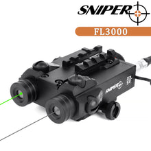 Load image into Gallery viewer, Sniper FL3000 TACTICAL Green / IR Dot SIGHT Combo Fit Night Vision