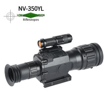 Load image into Gallery viewer, Sniper HD 4.5x50 Digital Night Vision Riflescope Night Vision Infrared IR Camera Take Photos and Video Playback Function and TF Card for Hunting