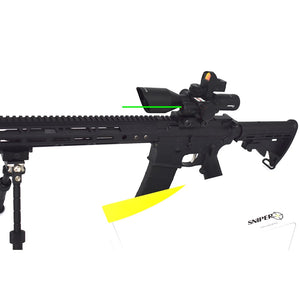 ST 2.5-10x40 Tactical Rifle Scope Combo R/G Mil-dot illuminated Green Laser with Red Dot Sight