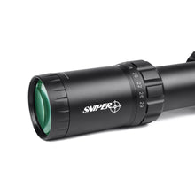 Load image into Gallery viewer, Sniper VT4.7-29x56 FFP 35MM Scope First Focal Plane Riflescope with Red/Green/Blue Illuminated Reticle