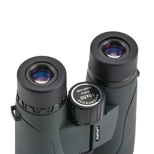 10X50 HD Binoculars for Adults, BAK4 Prism FMC Lens, Military Army Zoom Optics, Waterproof, Fogproof