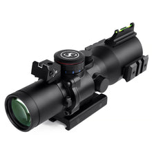 Load image into Gallery viewer, Sniper PM3.5X40CB Scope with Red, Green Illuminated Rapid Range Reticle