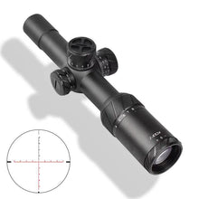 Load image into Gallery viewer, Sniper NT-HD 1-8X24 Tactical Rifle Scope Red/Green Illuminated Reticle