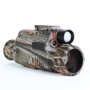 "Night Vision Monocular 5X40 Night Vision Infrared IR Camera HD Digital Night Vision Scopes with 1.5"" TFT LCD Take Photos and Video Playback Function and TF Card for Hunting"