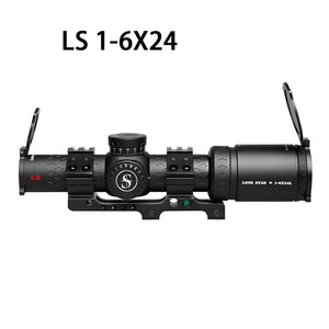 Sniper LS 1-6X24 WA Scope 35mm Tube with Red Illuminated Reticle
