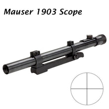 Load image into Gallery viewer, Sniper Mauser 1903 Rifle Scope Steel Tube and Steel Mount