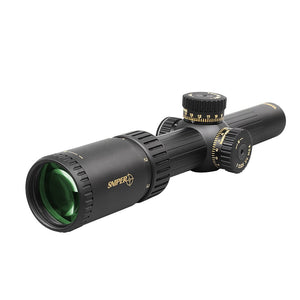 Sniper NT 1-6X24 Tactical Rifle Scope Red/Green Illuminated Reticle