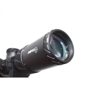 Sniper NT-HD 1-8X24 Tactical Rifle Scope Red/Green Illuminated Reticle