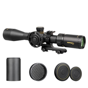 Sniper NT 2-12X44 Tactical Rifle Scope Red/Green Illuminated Rangefinder Reticle