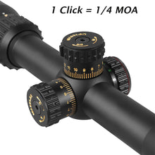 Load image into Gallery viewer, Sniper NT-HD 6-24X50AOL Scope with Red, Green Illuminated Reticle