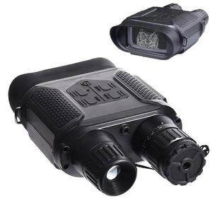 "Sniper Digital Night Vision Binoculars 1300ft Infrared Night Vision Range with 4"" TFT LCD, 32GB TF Card Take Photos and Video for Hunting"