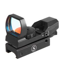 Load image into Gallery viewer, Sniper RD22F Red Dot Red and Green Reflex Sight with 4 Reticles