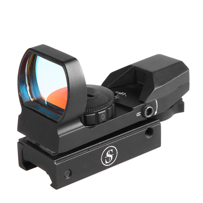 Sniper RD22F Red Dot Red and Green Reflex Sight with 4 Reticles