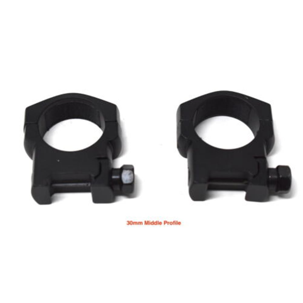 Tactical Heavy Duty 30MM Low/Medium/High Profile Ring Rifle Scope Mount Weaver and Picatinny Mount